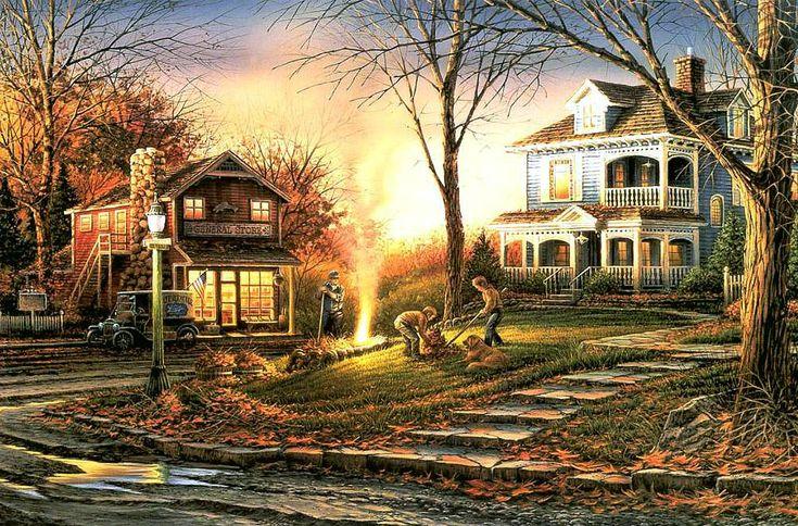 Bing Free Fall Wallpaper Terry Redlin Aroma Of Fall Art Pinterest Terry O