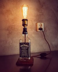 25+ best ideas about Bottle lamps on Pinterest | Wine ...