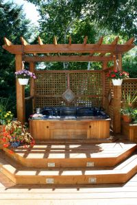 25+ best ideas about Hot Tub Deck on Pinterest | Hot tub ...