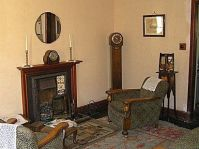 Another typical wartime sitting room, stuck in the 1930s ...