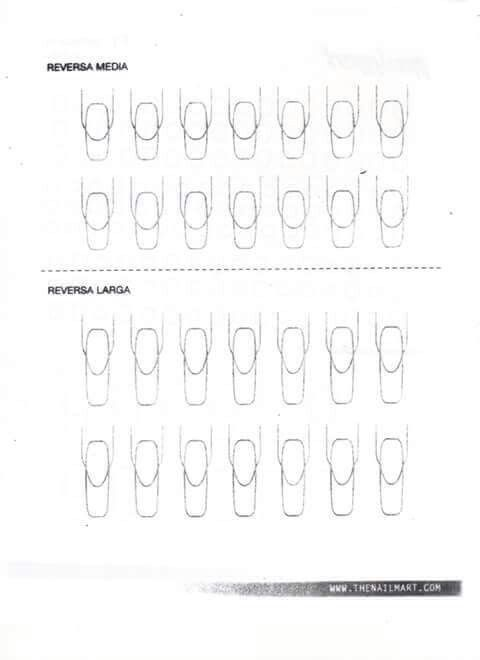 23 best images about Nail Practice Sheets on Pinterest