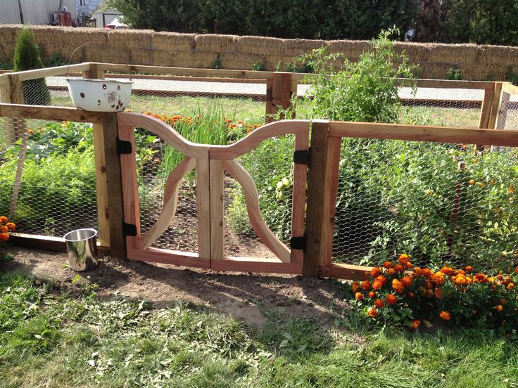 Rustic Garden Gate And Fence School Garden Pinterest