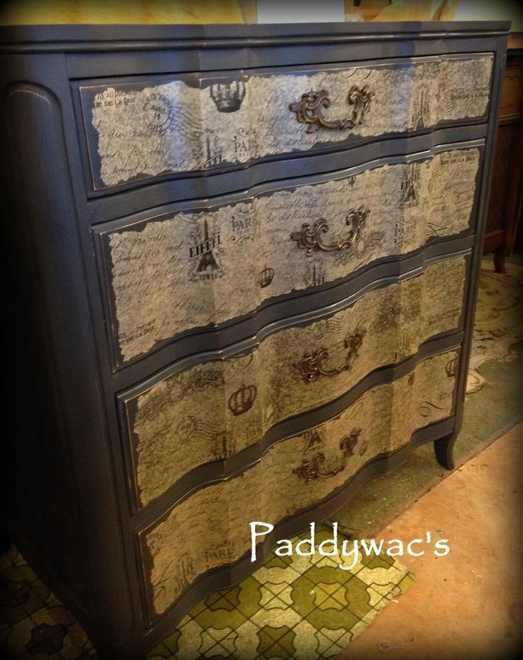 Chalk Paint Decorative Paint by Annie Sloan and Decoupage  Anything can be Painted