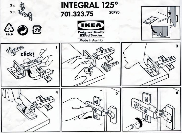 Ikea is big into information design because of the multi