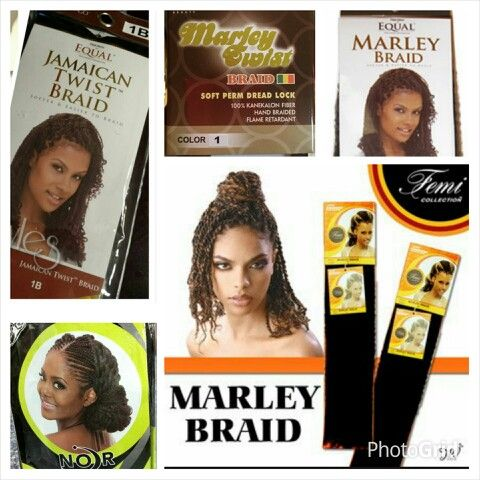 My Preferred And Most Often Used Brands Of Marley Braid