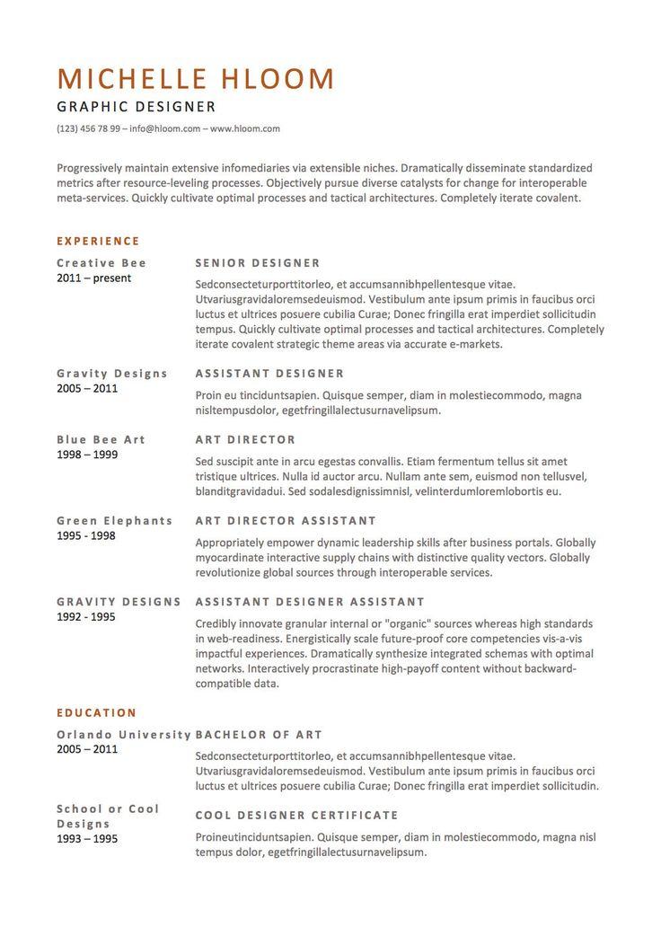 21 Free Résumé Designs Every Job Hunter Needs Hunters