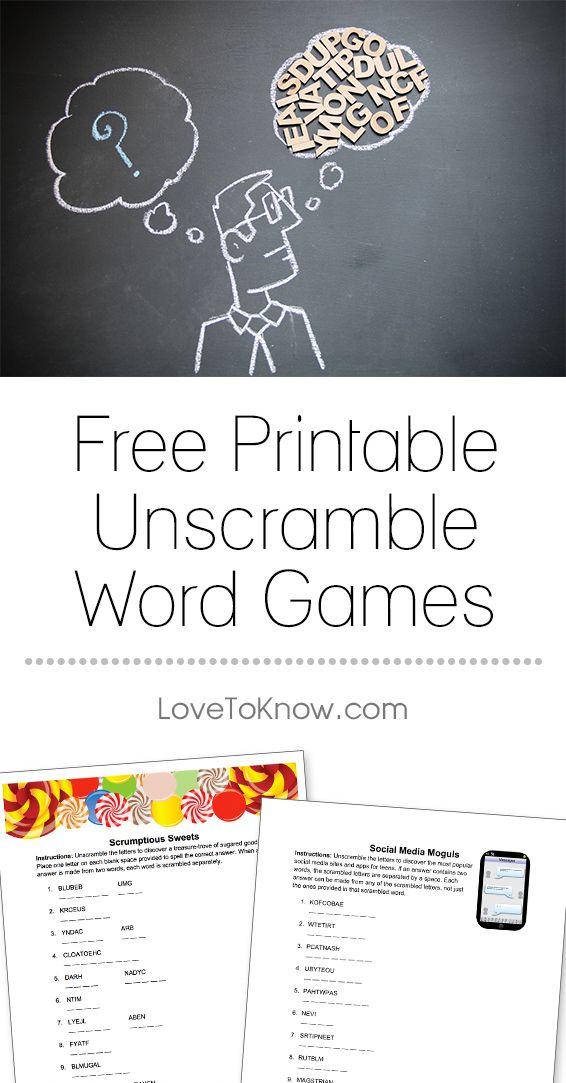 Best 25 Unscramble words ideas on Pinterest