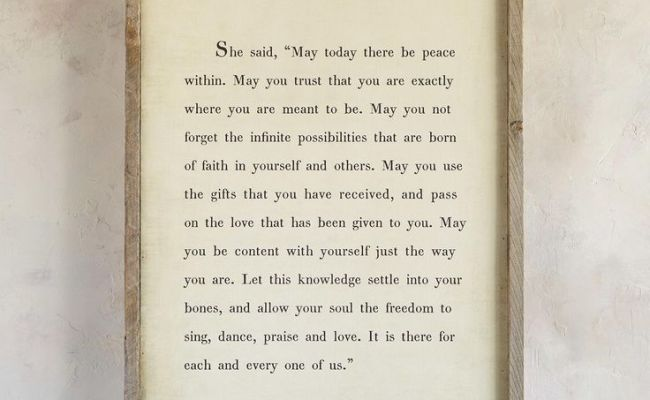 Words Of Wisdom Print By St Thérèse An Inspiring Quote