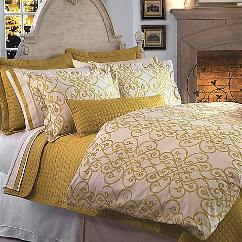 Change Up Your Bedding For Fall This Intricate Pattern In