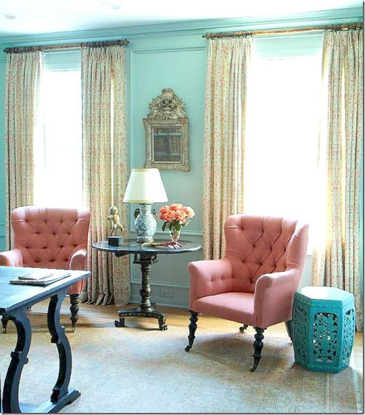 pink and aqua living room 105 best images about Color: Turquoise-Aqua Rooms I Love on Pinterest | Turquoise, Living rooms
