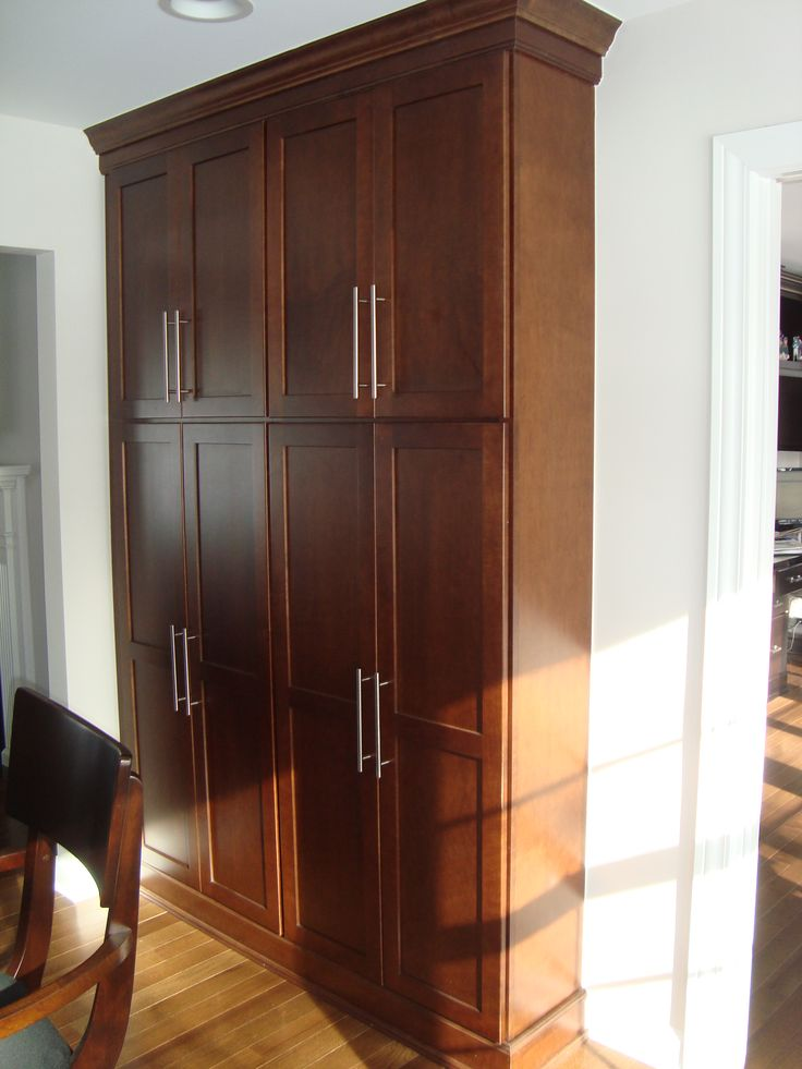 Pantry Cabinet Shallow Pantry Cabinet with Tall shallow