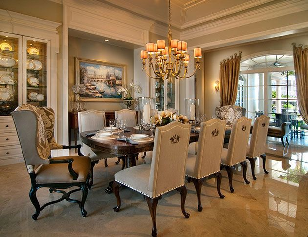 25 best ideas about Elegant dining room on Pinterest
