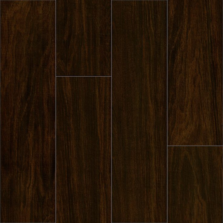 Florida Tile Walnut 6 x 24 Wood Grain Porcelain Tile