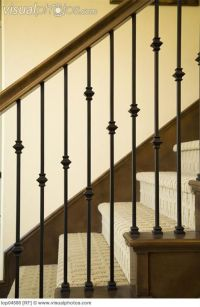iron banisters and railings