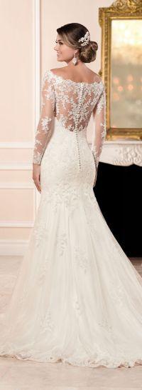 25+ best ideas about Trumpet style wedding dress on ...