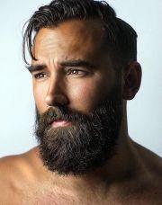 updated beard styles men