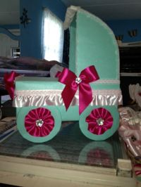 Baby shower $ and gift card box