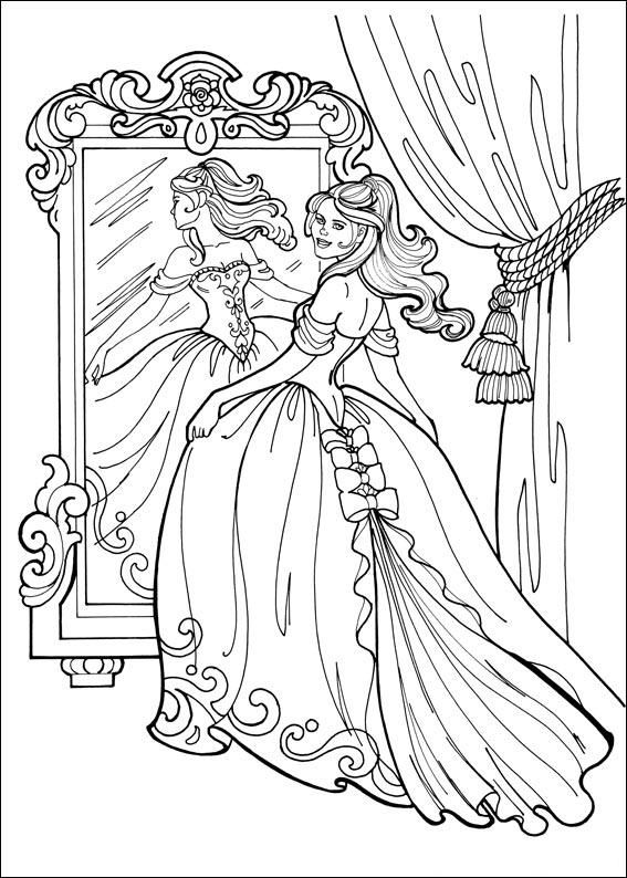 Peafowl Coloring Page For Kids
