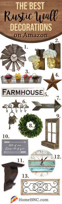 Best 25+ Rustic Wall Decor ideas on Pinterest | Farmhouse ...