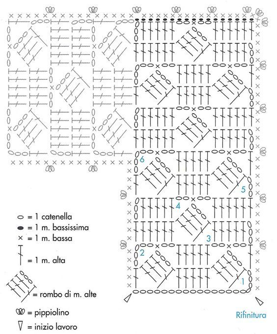 760 best images about CROCHET. Pattern and beautiful