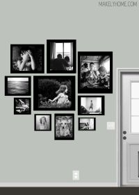 10+ ideas about Wall Frame Layout on Pinterest | Photo ...