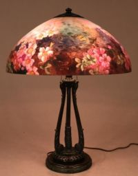 17 Best images about Reverse Painted Lamps on Pinterest ...