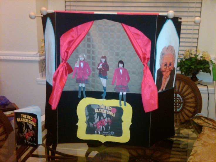Puppet show project for kids book report  5th Grade