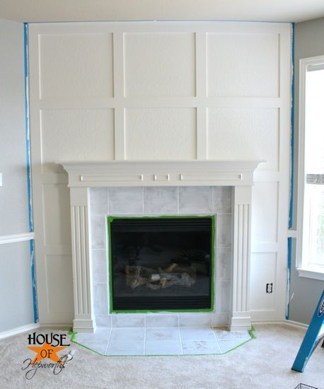 Pretty Living Room Accent Wall With Fireplace Or Bedroom Accent Clean Millwork Detail To Accent Fireplace To Complement