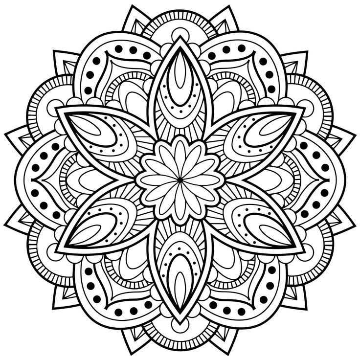 25+ best ideas about Mandala Stencils on Pinterest