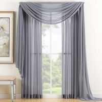 25+ best ideas about Window scarf on Pinterest | Curtain ...