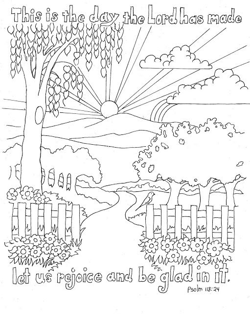 Psalm 1 Coloring Book Coloring Pages
