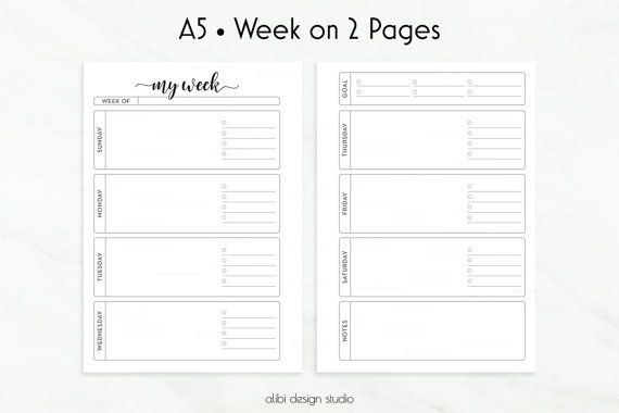 1416 Best images about Planner Printables & Inserts on