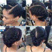 natural hair blowout ideas