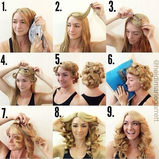 25 Best Ideas About Overnight Hairstyles On Pinterest Overnight