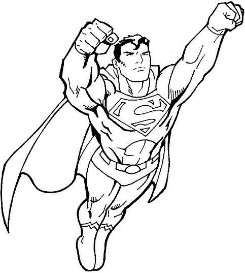 The 25+ best Superhero coloring pages ideas on Pinterest