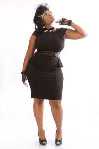 full figured little black dress. | Sexy is...full figured ...