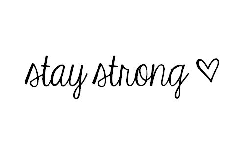 25+ best ideas about Stay Strong Tattoos on Pinterest