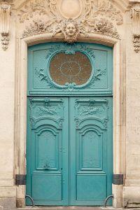 Paris Door, Paris Photography, Architecture Art Print ...