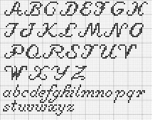 141 best images about cross stitch patterns (alphabet) on