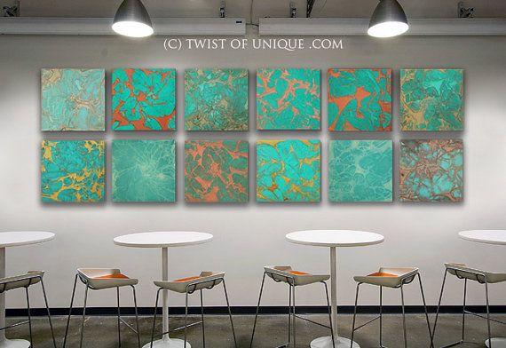 Industrial Copper Wall Art,