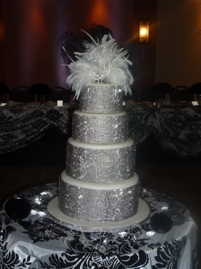 25 Best Ideas about Sparkly Wedding Cakes on Pinterest