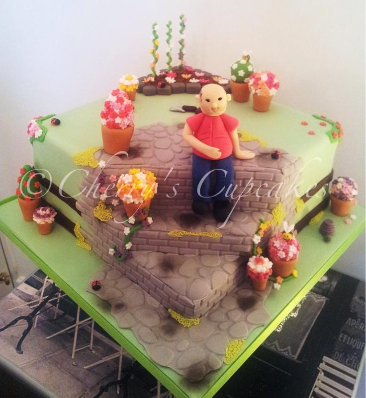 Les 77 Meilleures Images à Propos De Gardening Cake Ideas Sur