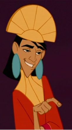 Emperor Kuzco From The Emperors New Groove Setting