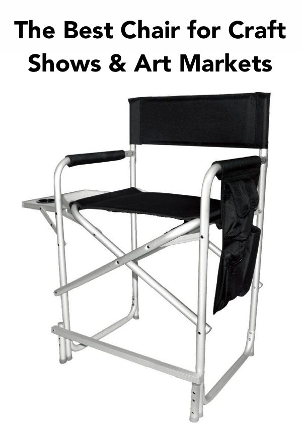 tall directors chair with side table retro dining chairs uk 235 best images about art fair booth ideas on pinterest   ideas, and display