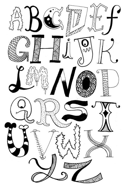 13 best images about Decorative Letters on Pinterest