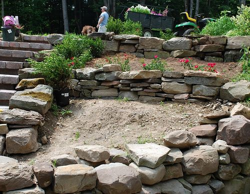 Building Garden Path Slope