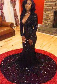 Black People Prom Dresses_Black Dresses_dressesss