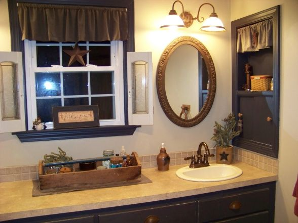 17 Best ideas about Primitive Country Bathrooms on Pinterest  Primitive bathrooms Primitive