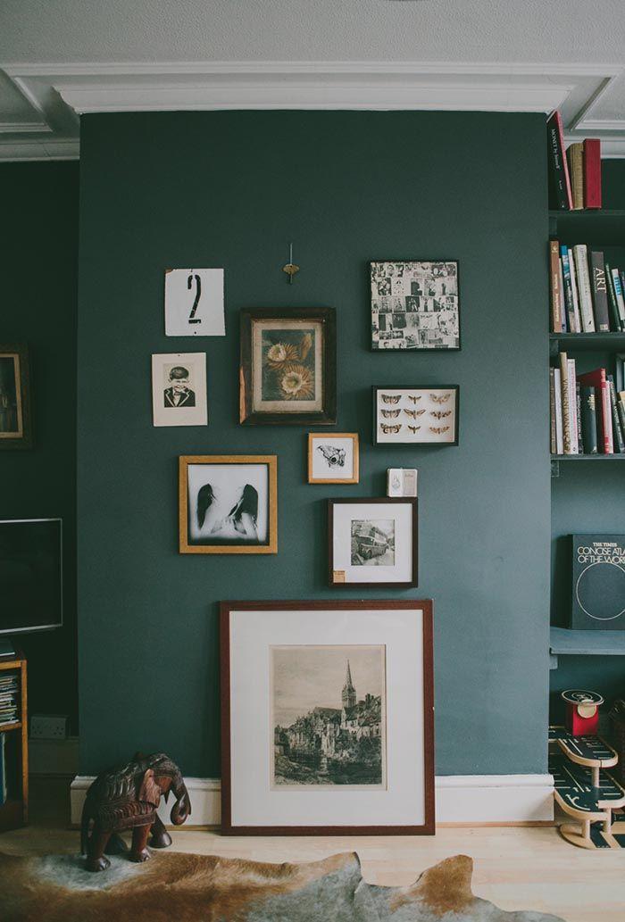 25+ best ideas about Dark green walls on Pinterest