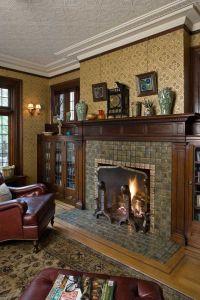 250 best Arts & Crafts Fireplaces I Love images on Pinterest